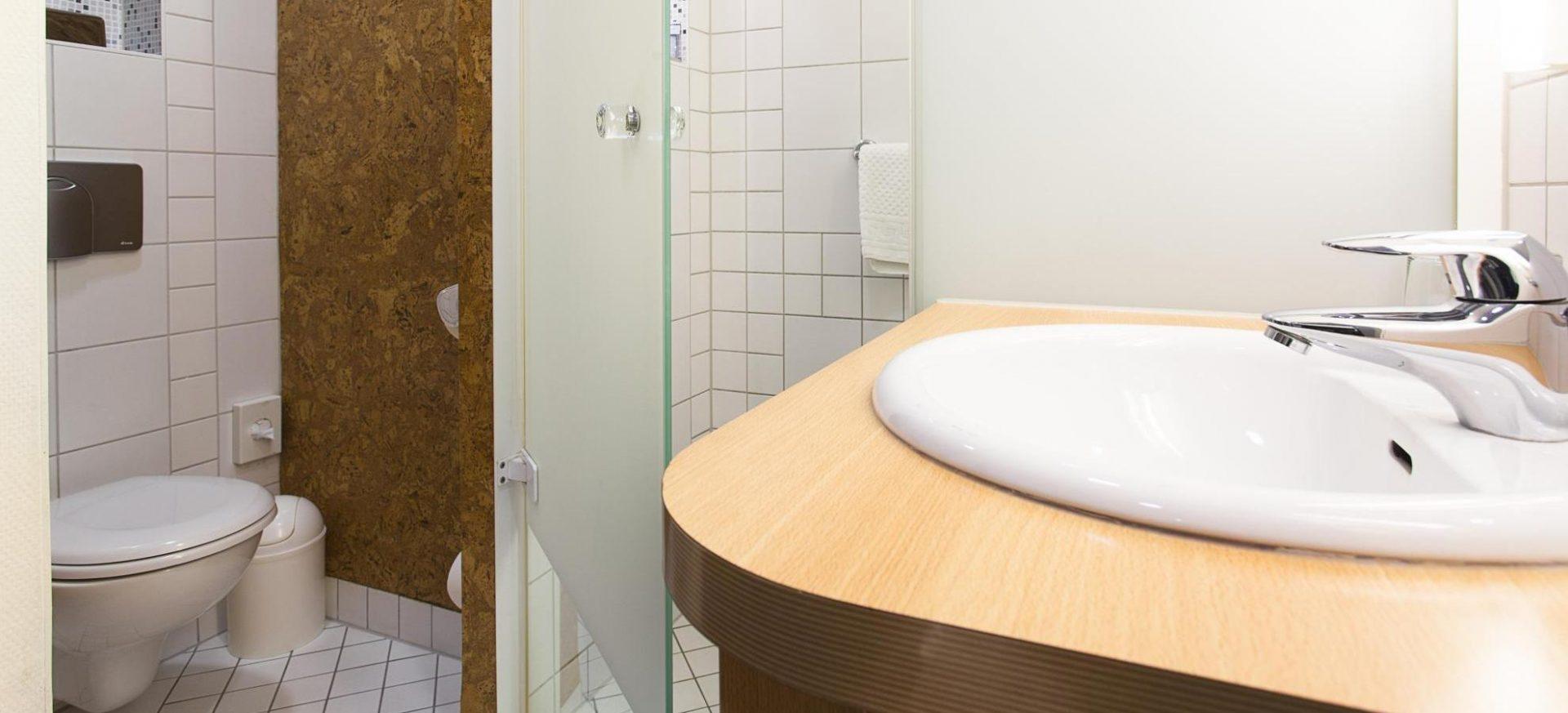 Radisson Blu Hotel Erfurt Standard Zimmer Badezimmer